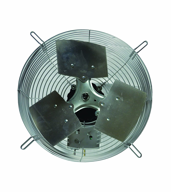 "TPI Corporation CE-24-D Direct Drive Exhaust Fan, Guard Mounted, Single Phase, 24"" Diameter, 120 Volt"