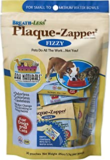 product image for ARK NATURALS Plaque Zapper, Tasteless Water Fizzy for Cats and Dogs, Reduces Bad Breath, Plaque and Tartar