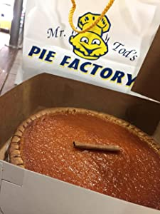 "Mr. Tod's 10"" Southern Style Sweet Potato Pie"