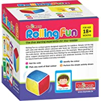 Toymate Playmate Rolling Fun- A Perfect Activity Game for Toddler-A pre School Educational Game for Kids 2-4 Years & Above.
