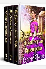 Regency Loves of Secrecy and Redemption: A Clean & Sweet Regency Historical Romance Collection Kindle Edition