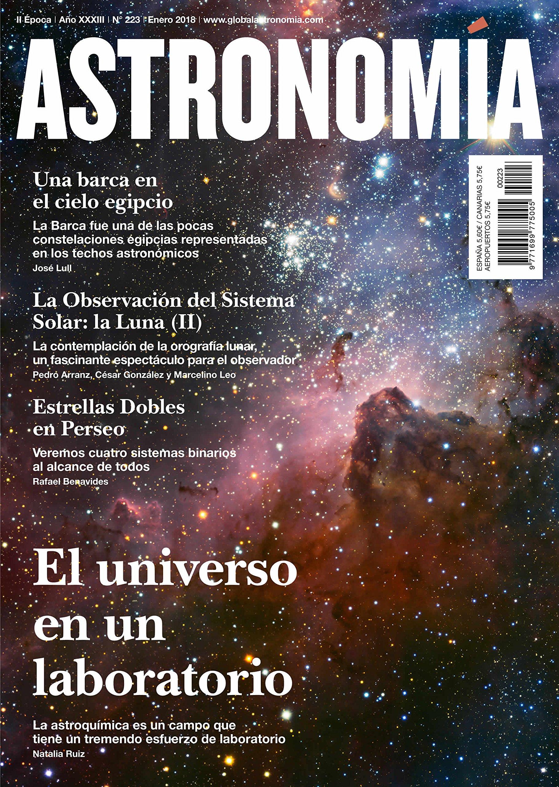 Pack 3 revistas. Revista astronomía. Enero, febrero y marzo 18 ...
