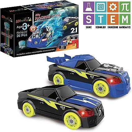 Amazon.com: Take Apart Racing Car, juguete para 4 años, kit ...