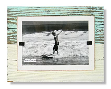 Amazon Beach Frames Rustic Reclaimed Wood 4 X 6 Picture