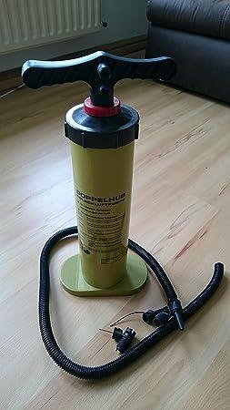 Doble Hub Bomba de mano con varios. Accesorios 2 x 2 l, aire colchones Hub Bomba de mano (LHS): Amazon.es: Jardín