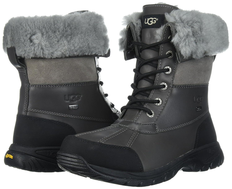 c24b01fb39b3 Ugg Australia Butte Herren US 12 Grau Schneestiefel UK 11 EU 45.5   Amazon.de  Schuhe   Handtaschen
