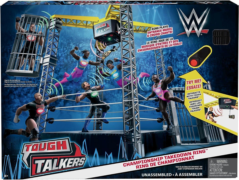WWE Tough Talkers Catch Championnat Takedown Ring