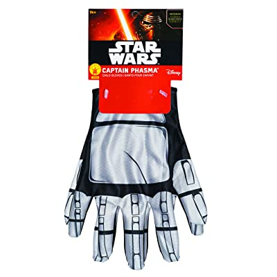 Star Wars: The Force Awakens Captain Phasma Child's Costume Gloves: Toys & Games
