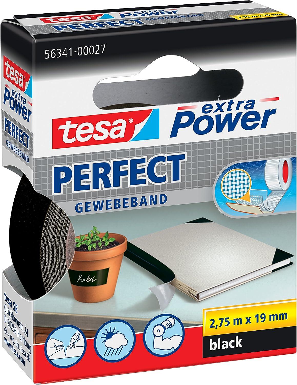 1x Komplett-Set 2,75 m x 19 mm tesa Gewebeband extra Power Perfect