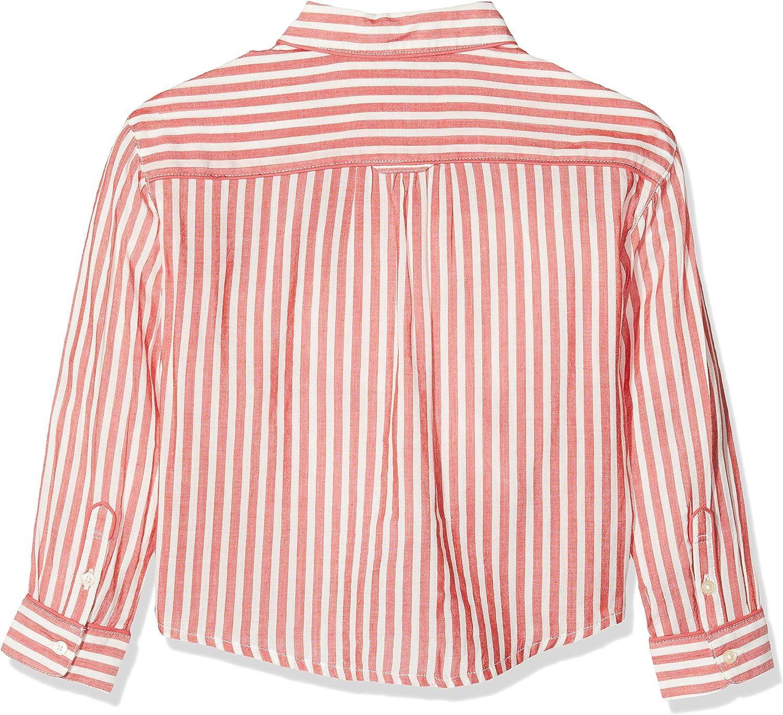 Scotch /& Soda Viscose Mix Shirt with Piping Details in Various Patterns Camicia Bambina