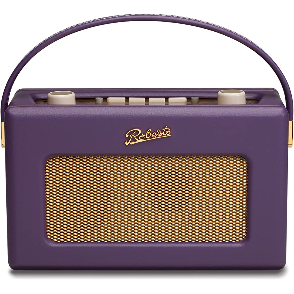 Roberts RD60 Revival DAB/FM RDS Digital Radio Purple