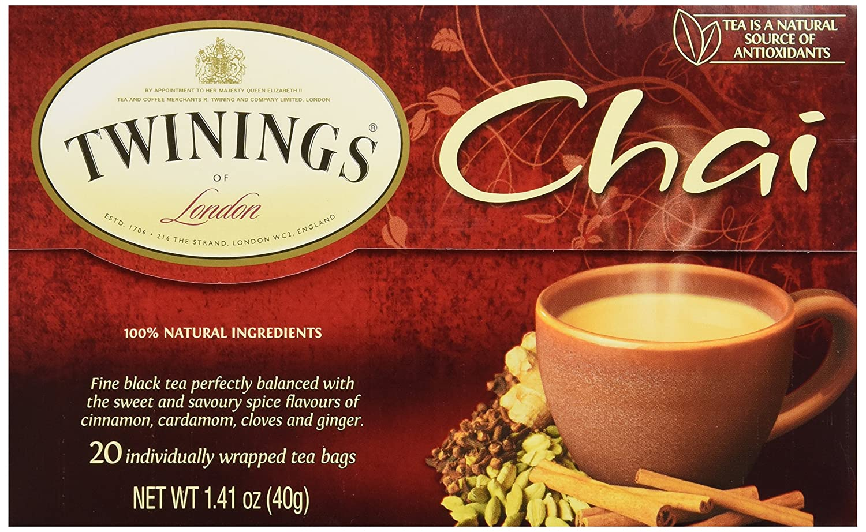 Twinings Tea Chai Tea, 20 ct