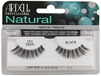 e1f00081423 Amazon.com : Ardell Fashion Lashes Natural Strip Lash, Black [120] 1 ...