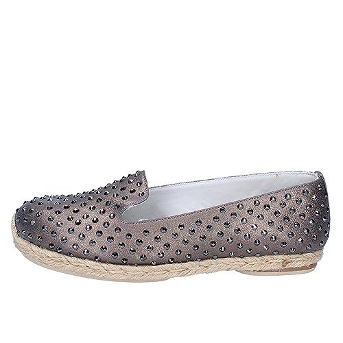 EDDY DANIELE Alpargatas Mujer Cuero Bronce 39 EU: Amazon.es: Zapatos y complementos