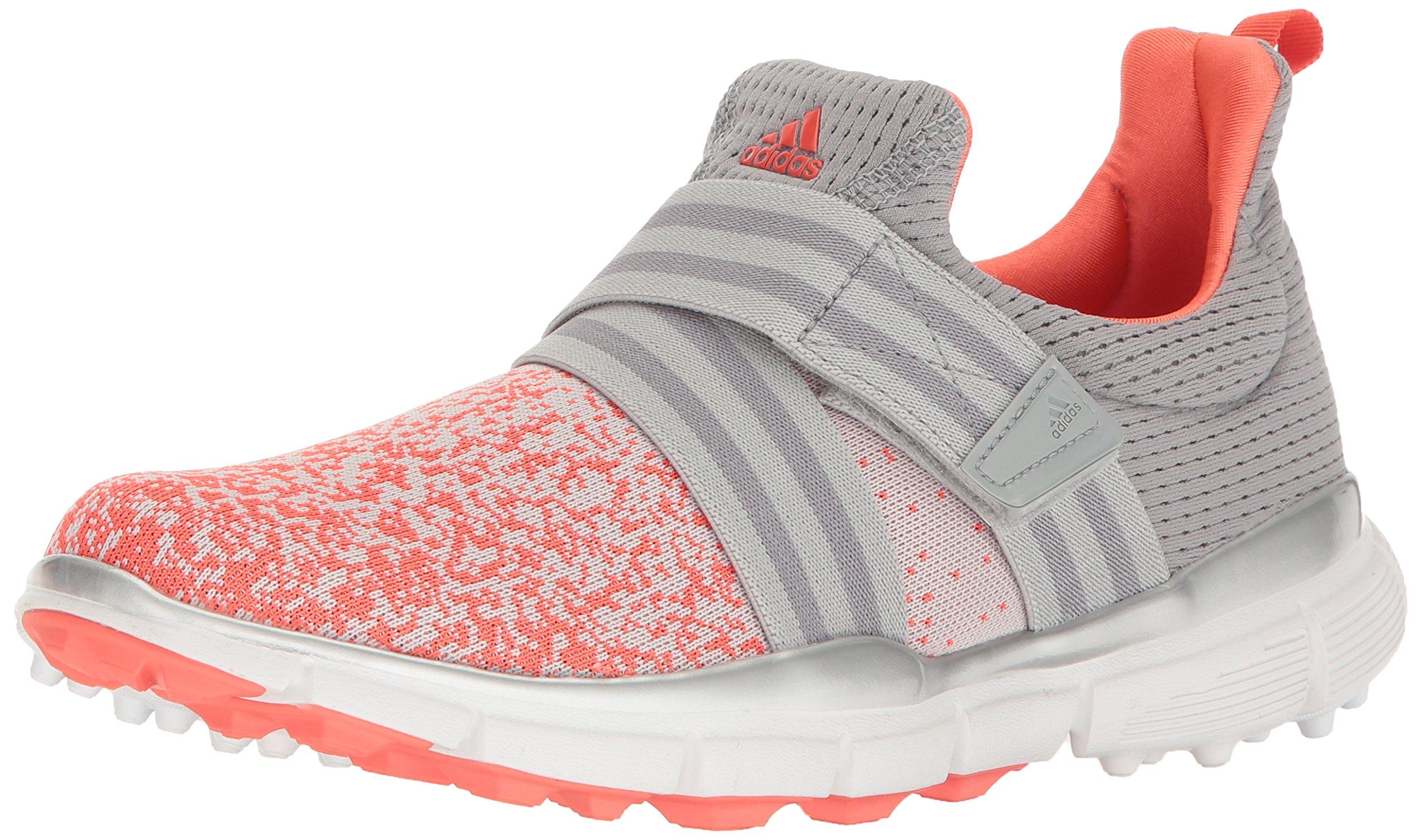 adidas Women's Climacool Knit Golf Shoe, Light Onix, 5.5 M US