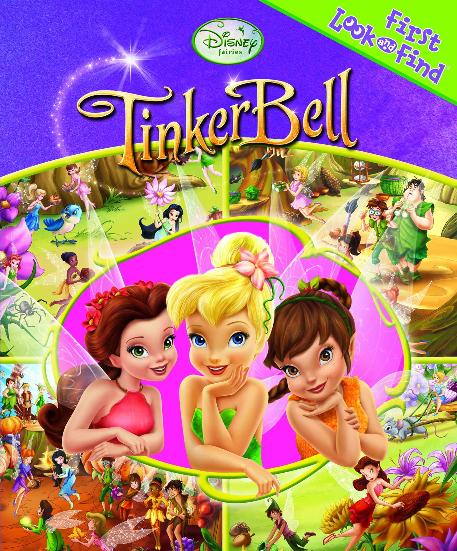 Download Disney Fairies: TinkerBell (First Look and Find Series) PDF Text fb2 ebook