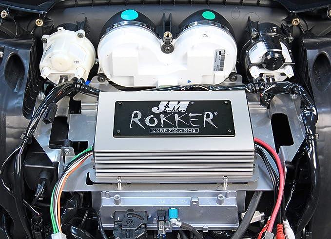 Amazon.com: J&M STAGE-5 ROKKER XXR Custom 700w 4-Speaker/Amplifier Installation Kit for 2014-2019 Harley Ultra/Ultra Ltd # XXRK-700SP4-14UL-ST5: Automotive