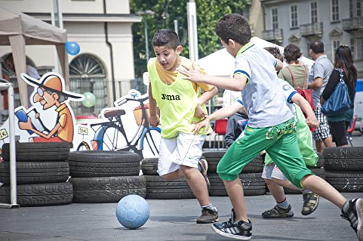 One World Play Project Pelota Ultra Durable de fútbol para niños y ...
