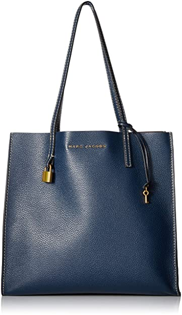 8a2473784 Amazon.com: Marc Jacobs Women's The Grind Shopper Tote Bag, Blue Sea ...