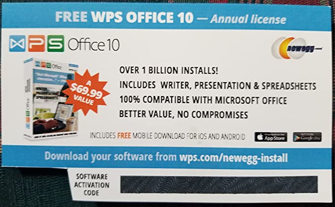 Kingsoft wps activation code | WPS OFFICE BUSINESS EDITION