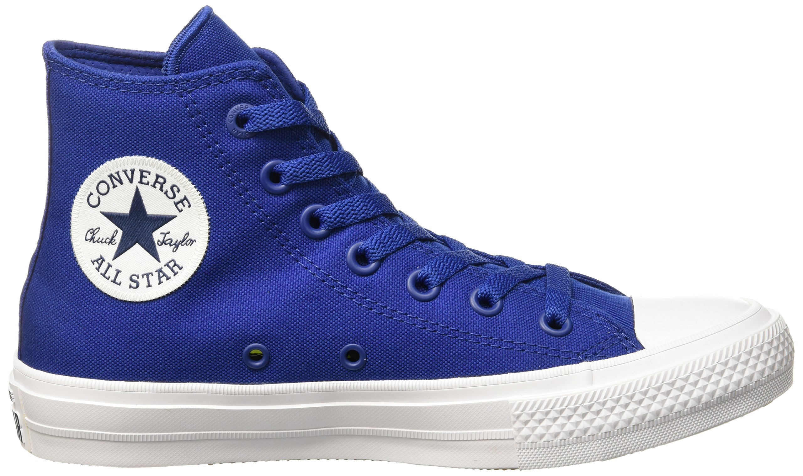 Converse Men's Chuck Taylor All Star II Hi, (Blue), 4 by Converse (Image #6)
