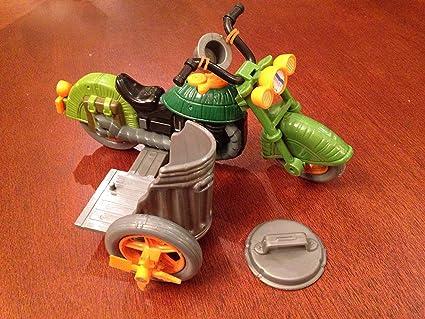 No Sidecar Motorbike Teenage Mutant Ninja Turtles Figure Turtlecycle