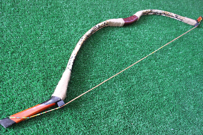 40lb Leopard Print Recurve Bow Archery Handmade Craft Longbow Hunting SmoothSkin e5e10