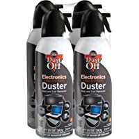 Dust-Off 10 oz Compressed Gas Duster, Pack of 4