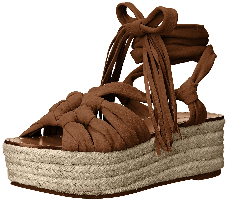 Sigerson Morrison Women's Cosie Espadrille Wedge Sandal B016KIOSYY 6 B(M) US|Dark Tan