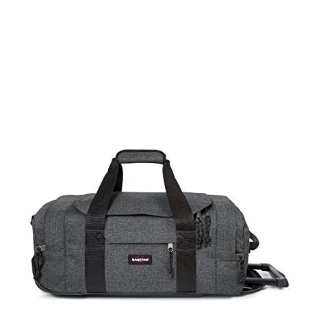 d1a0f329fb Eastpak Leatherface S Bagaglio con Ruote, 55 cm, 38 L, Grigio (Black ...
