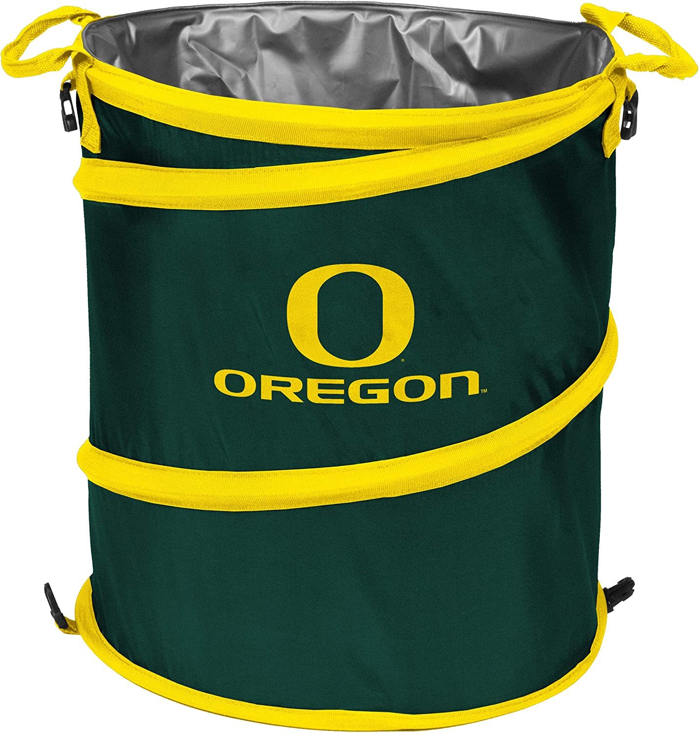 Adult Green NCAA Oregon Ducks Collapsible 3-in-1 Trash Can