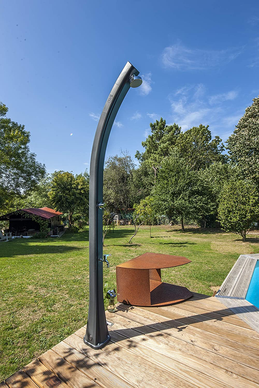 Gre SSR25 – Ducha solar de resina con depósito 25 litros, para jardín: Amazon.es: Jardín