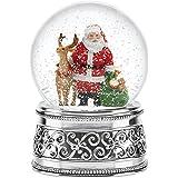 Reed & Barton Jingle All The Way Small Snowglobe