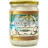 Organic Coconut Oil 16.91 oz, Extra Virgin, Unrefined Cold-Pressed Fresh w/ E-Book