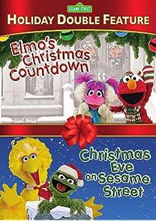 sesame street christmas eve on sesame street elmos christmas countdown dbfedvd