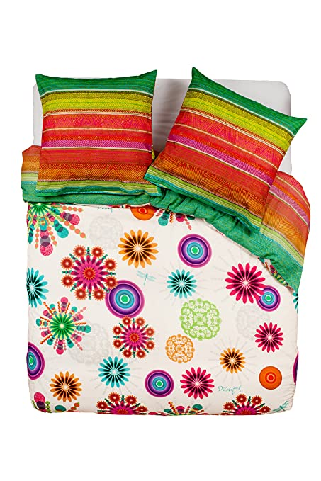 Desigual Pack Duvet Cover and Pillowcases Moon Design, multicolored ...