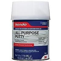 Bondo 3M Home Solutions, 1-Quart 20052 Qt All Purpose Putty, Light Gray