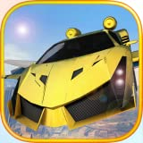 Free Sport Car Flying Simulator