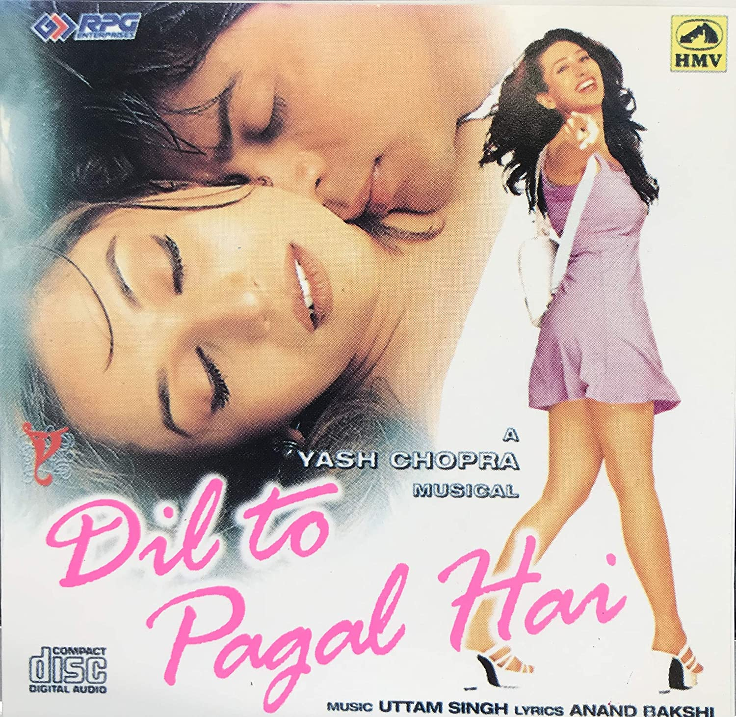 Special price for a limited time Dil Selling and selling To Pagal Hai Shahrukh Bollywood Khan Film Mo Soundtrack