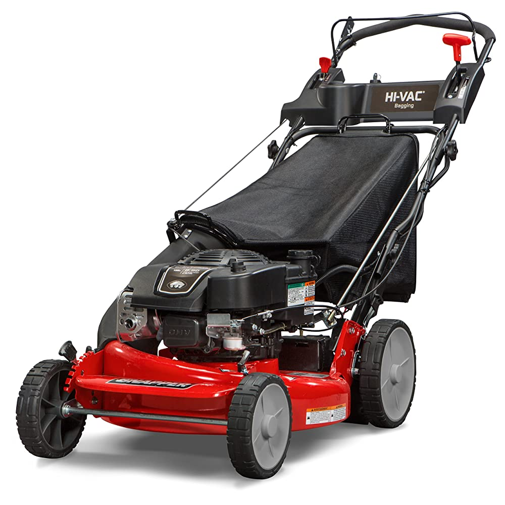 Snapper P2185020E / 7800982 HI VAC 190cc 3-N-1 Rear Wheel Drive Variable Speed Self Propelled Lawn Mower with 21-Inch Deck and ReadyStart System and 7 Position Heigh-of-Cut - Electric Start Option Review