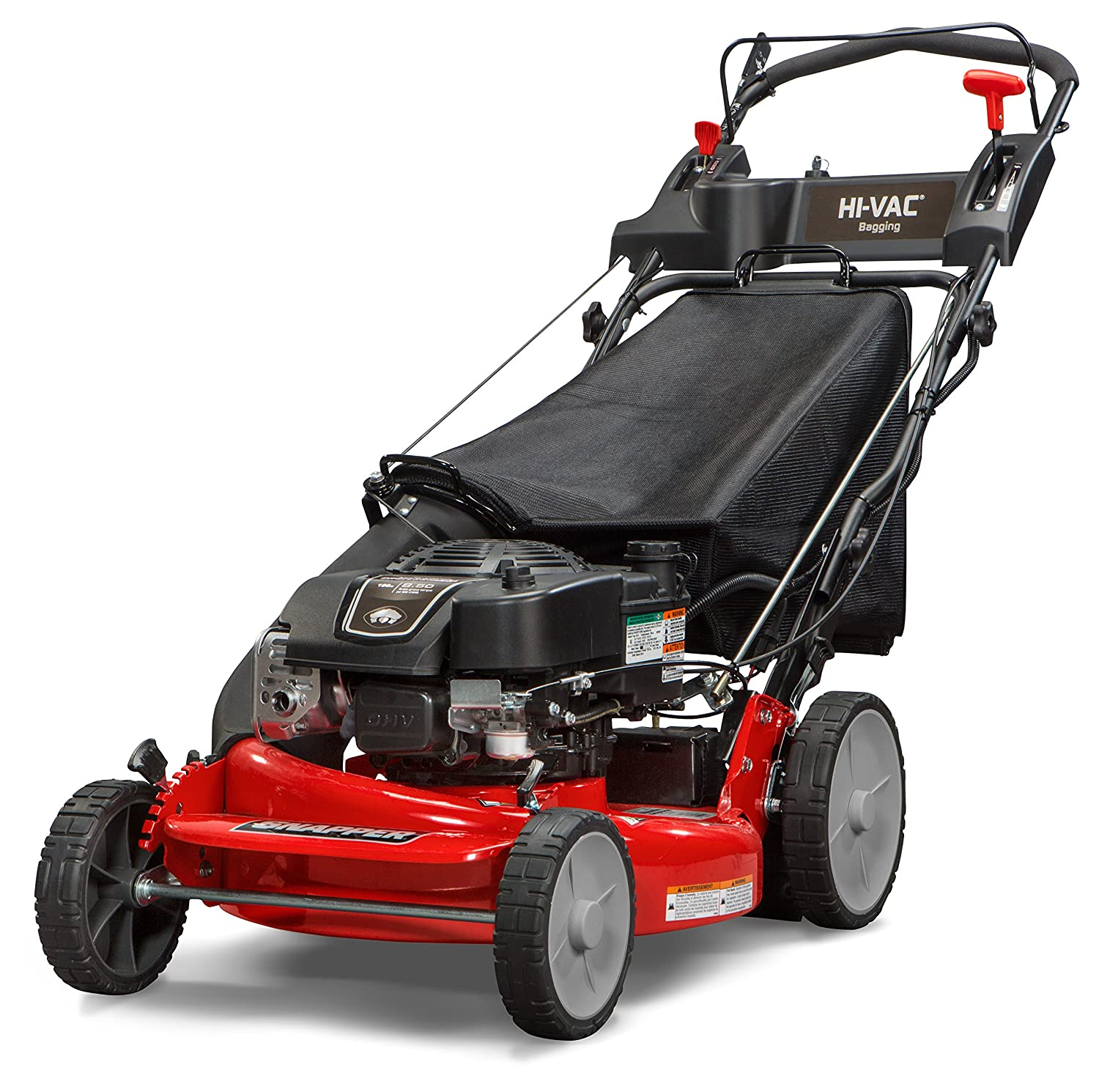 Snapper P2185020E / 7800982 HI VAC 190cc 3-N-1 Rear Wheel Drive Variable Speed Self Propelled Lawn Mower