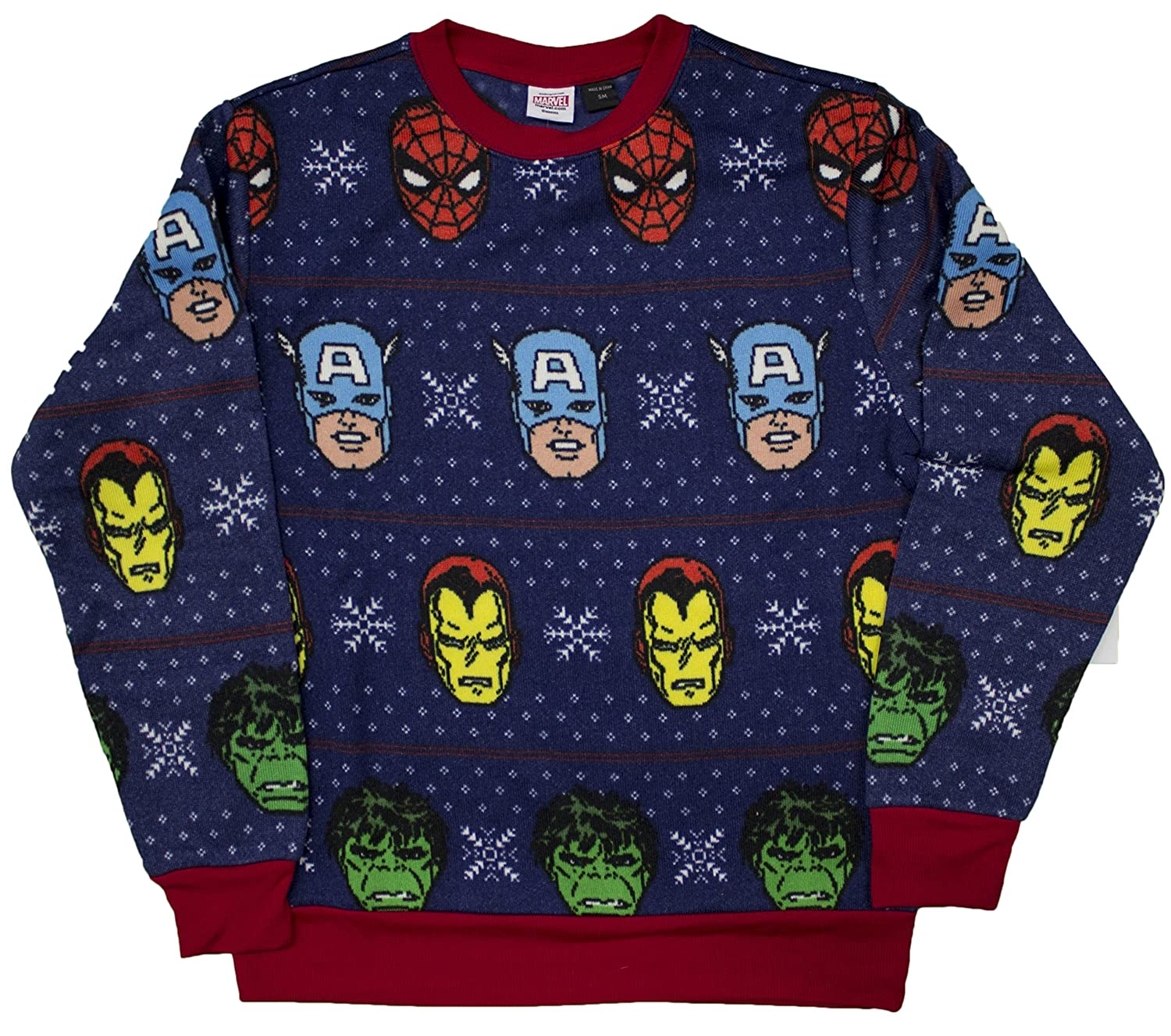 Marvel Avengers Ugly Christmas Sweater