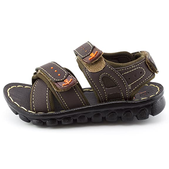 Boys Gladiator Hook-and-Loop Strap Sandals (Toddler/Little Kid): Amazon.ca:  Shoes & Handbags