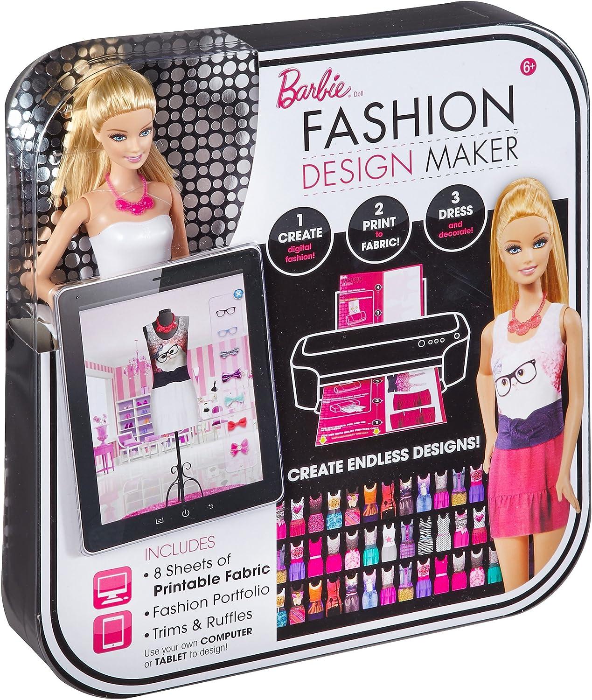 Amazon Com Barbie Fashion Design Maker Doll Toys Games
