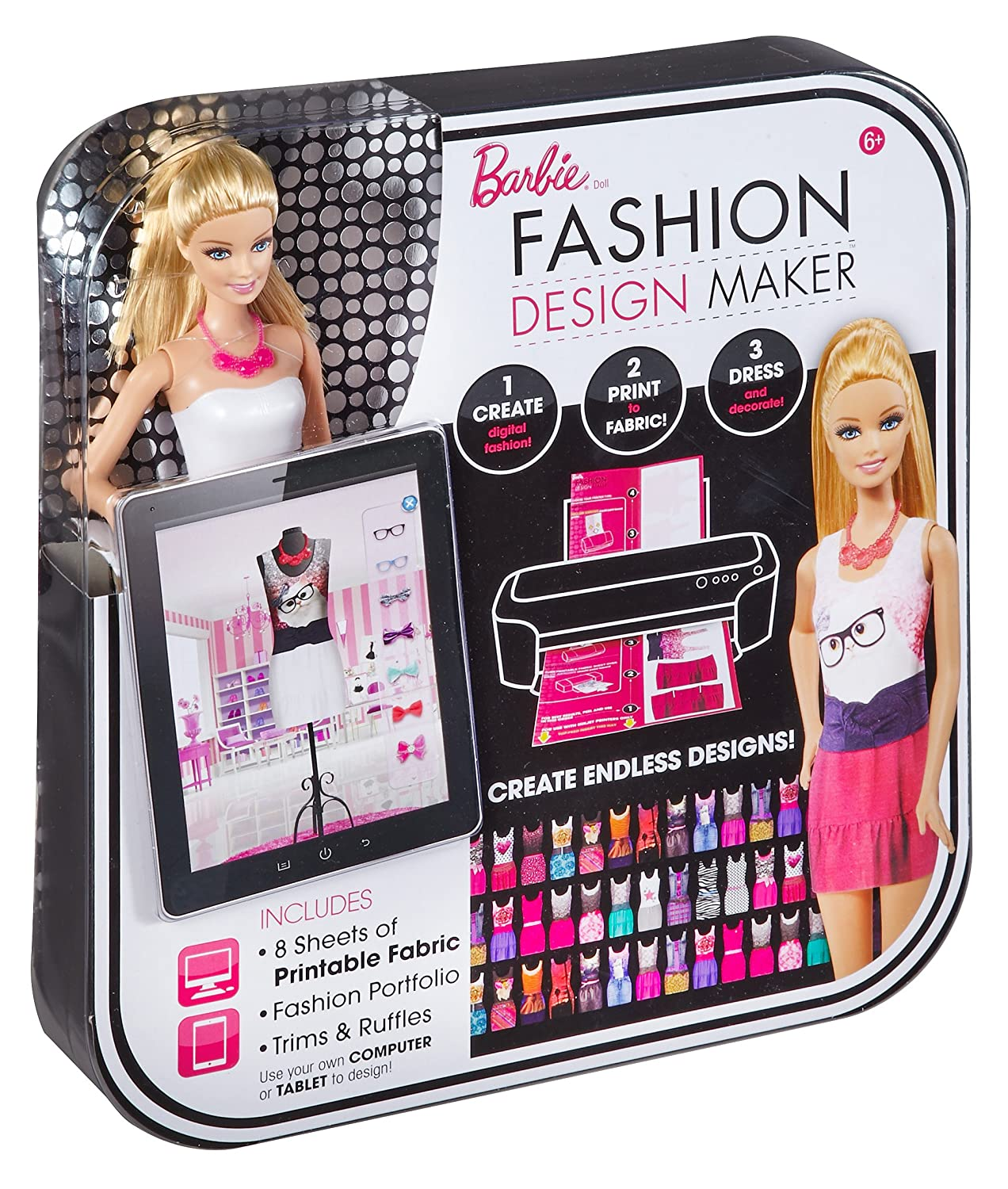 Barbie Fashion Design Maker Doll: Amazon.co.uk: Toys & Games