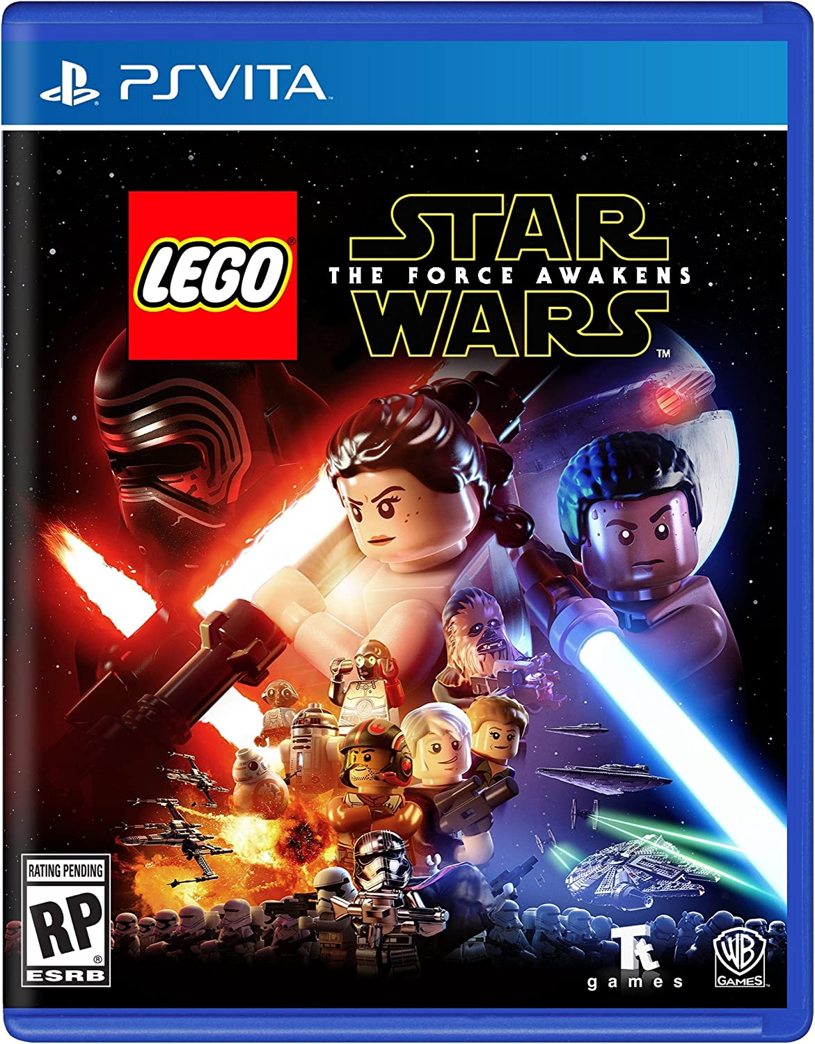 Amazon com: LEGO Star Wars: The Force Awakens: PlayStation 4: Whv