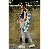Aster Floral Yoga Mat Bag Exercise Fitness Carrier Washable Adjustable Strap Meditation Bag