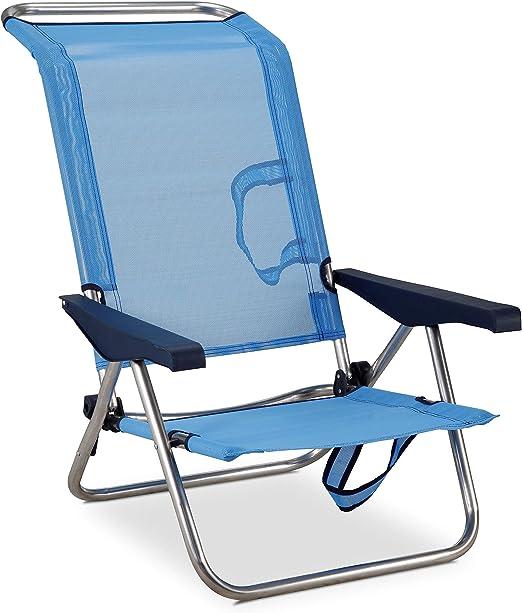 Eredu 991 / TX - Silla Cama de Playa Posiciones Aluminio 77 x ...