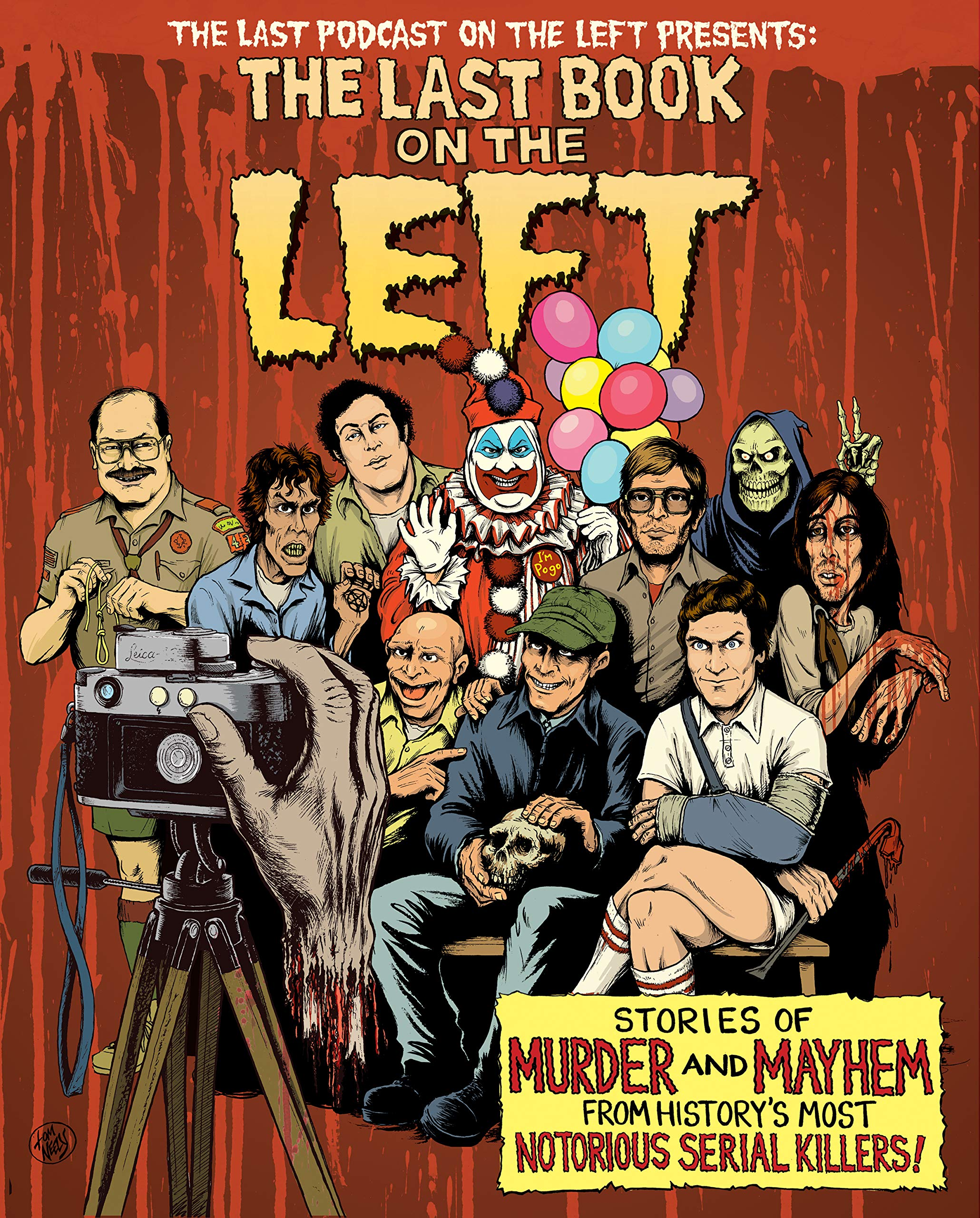 The Last Book On The Left Stories Of Murder And Mayhem From History S Most Notorious Serial Killers Kissel Ben Parks Marcus Zebrowski Henry Neely Tom 9781328566317 Amazon Com Books Marcus parks is an actor and writer, known for last podcast on the left: the last book on the left stories of