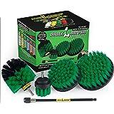Fuentes de limpieza - Taladro cepillo eléctrico depurador del equipo con extensión - Cepillo del plato - kit del cepillo…